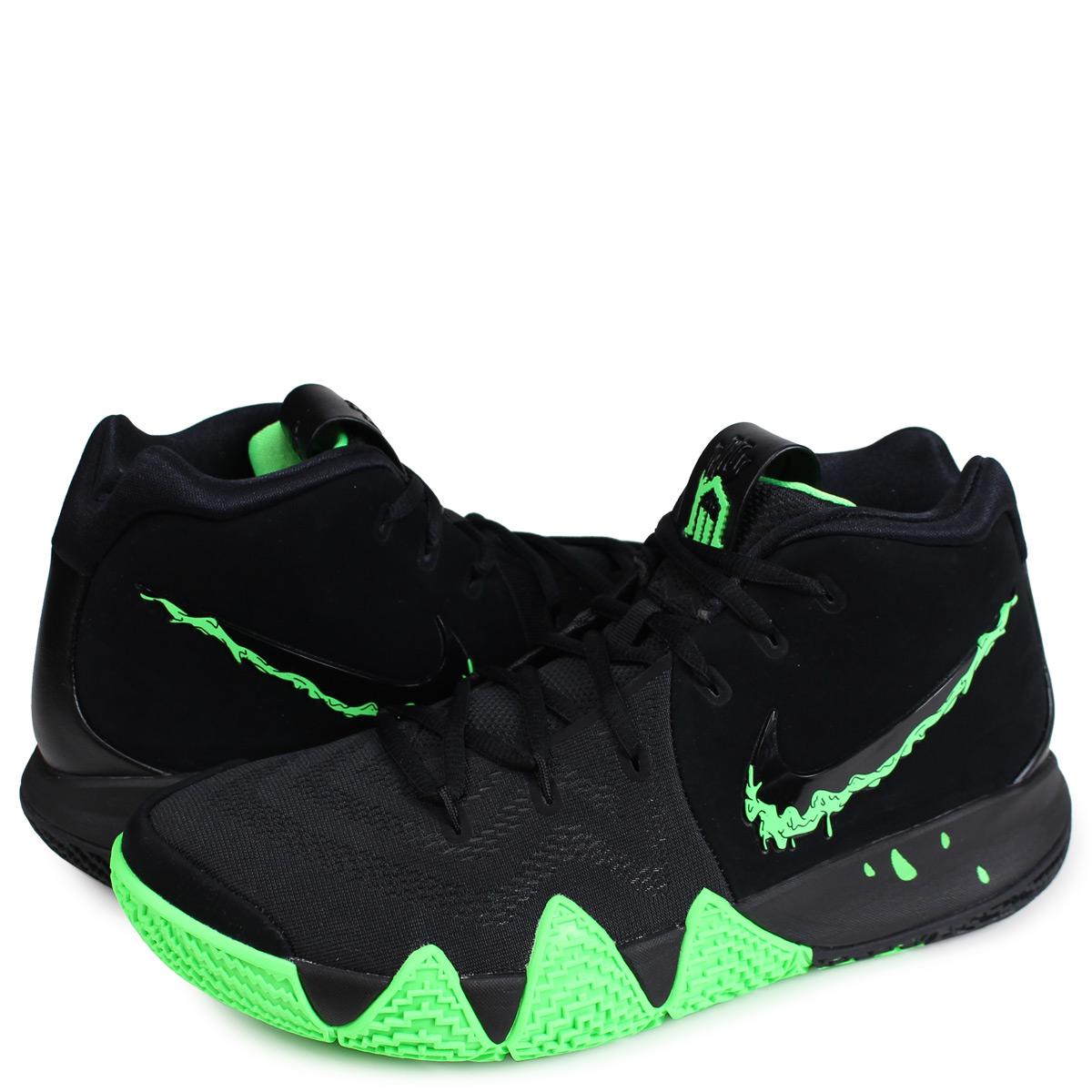official photos b739e a83eb Nike NIKE chi Lee 4 sneakers men KYRIE 4 EP HALLOWEEN black black  943,807-012 [197]