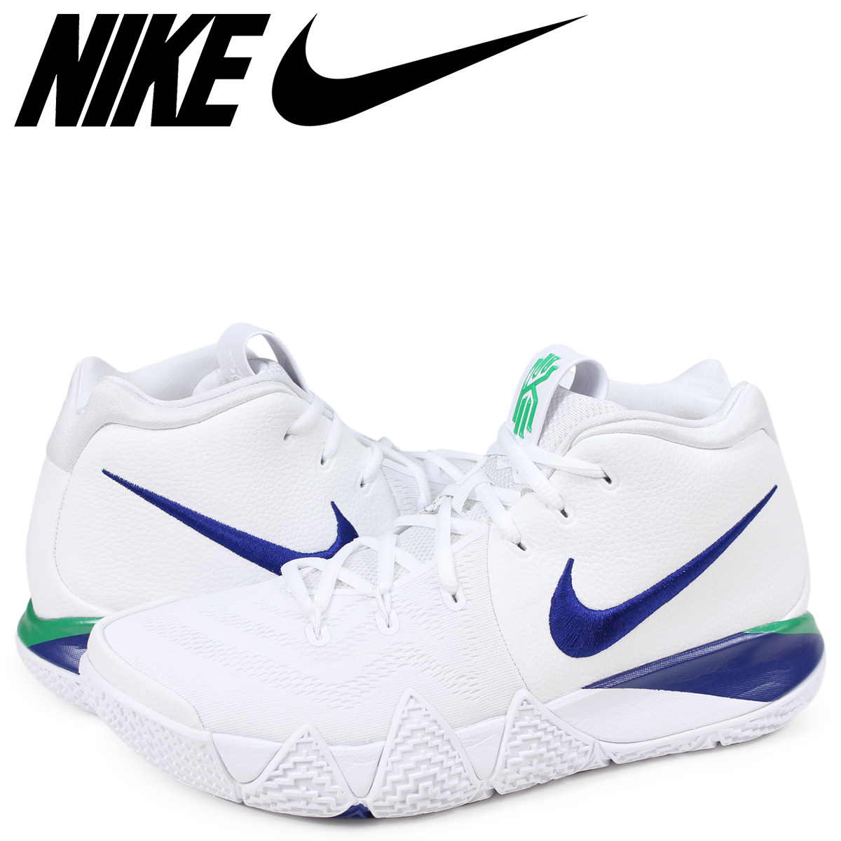 super popular 3a534 7af3e NIKE KYRIE 4 EP Nike chi Lee 4 sneakers men 943,807-103 white [186]
