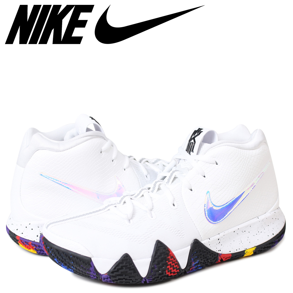 NIKE KYRIE 4 EP MARCH MADNESS Nike chi Lee 4 sneakers men 943,807 104 white