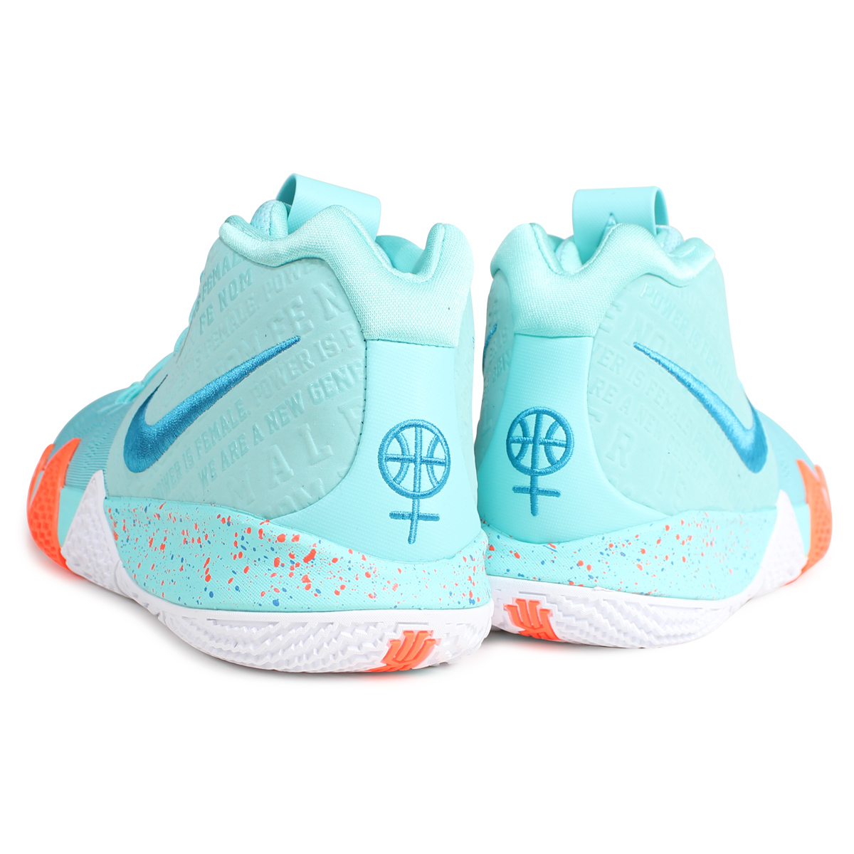 new style e8a54 115a1 NIKE KYRIE 4 EP POWER IS FEMALE Nike Carly 4 sneakers men 943,807-402  turquoise [187]