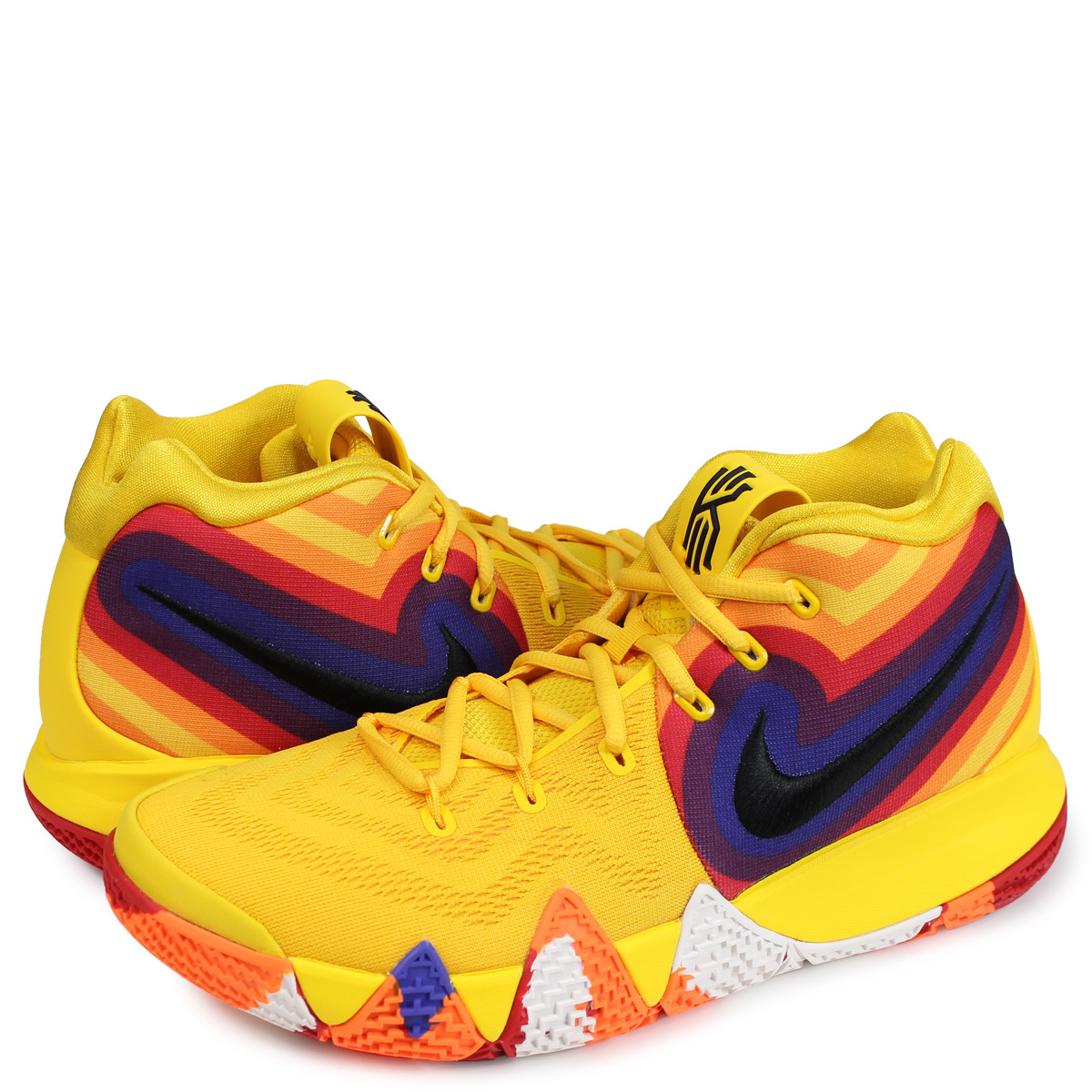 f6c6d0bf2704 Nike NIKE chi Lee 4 sneakers men KYRIE 4 EP 70s DECADES PACK yellow  943