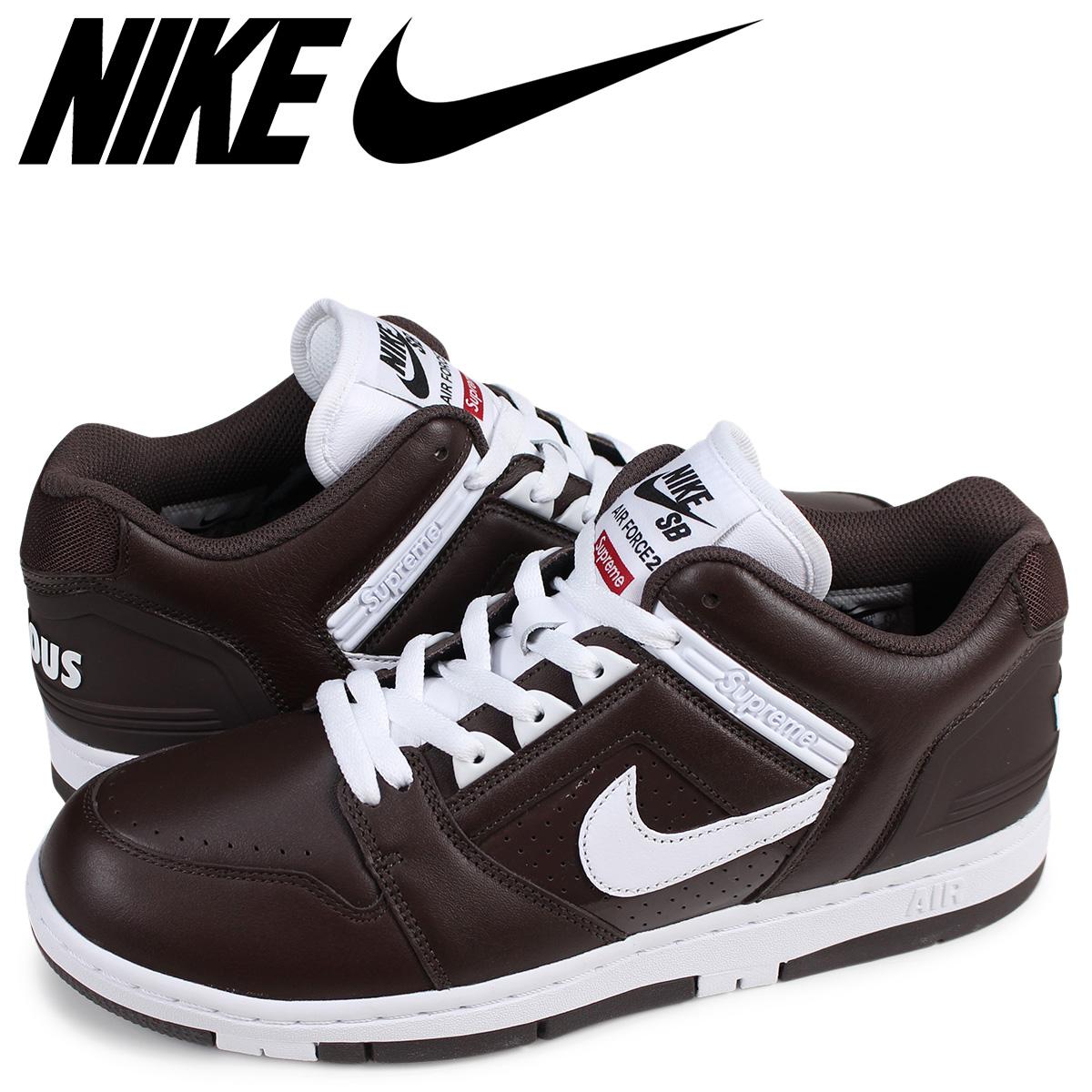 NIKE AIR FORCE 2 LOW Nike SB air force 2 sneakers men AA0871 212 brown