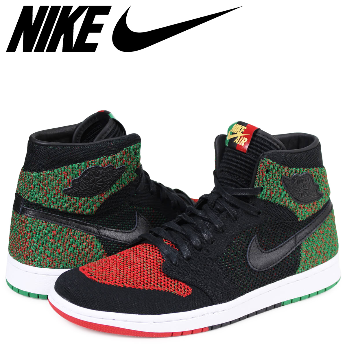 21ae55a0fee09 ALLSPORTS  NIKE AIR JORDAN 1 RETRO HIGH FLYKNIT BHM Nike Air Jordan ...