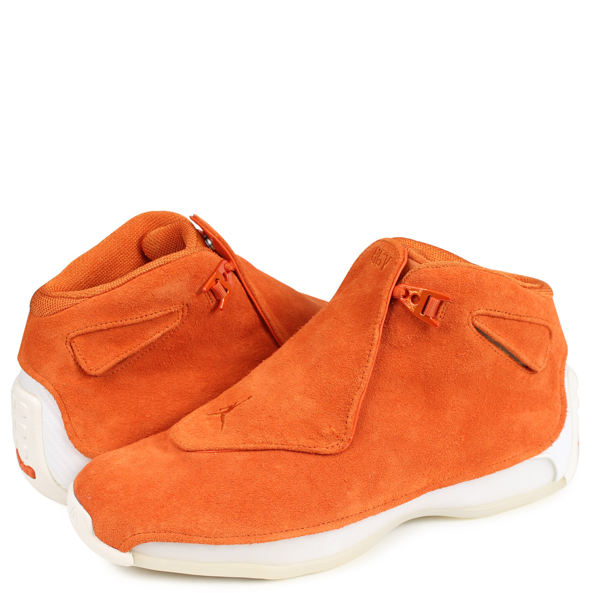 264184841511 Nike NIKE Air Jordan 18 nostalgic sneakers men AIR JORDAN 18 RETRO orange  AA2494-801  1812