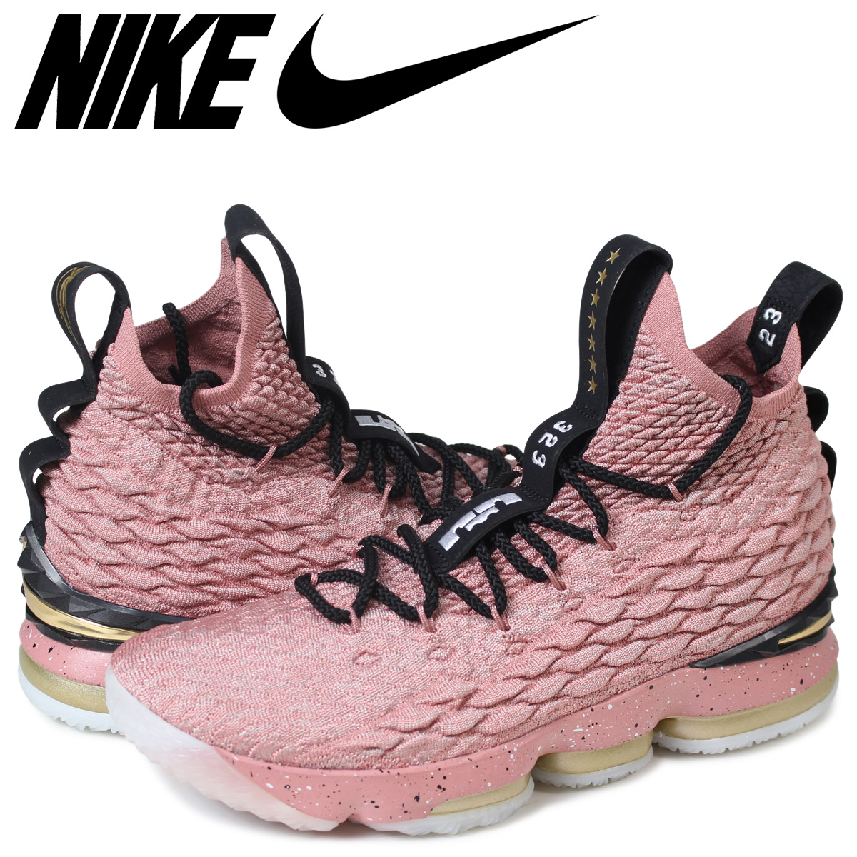 aa7b931062a2 ... basketball shoes cheap sale ede13 c5418  good nike lebron 15 ep nike  revlon 15 sneakers men aa3857 600 pink 185 5a14a b2033