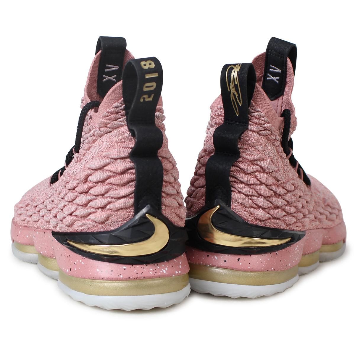 5ec43d88455 ... good nike lebron 15 ep nike revlon 15 sneakers men aa3857 600 pink 185  fe914 c6742
