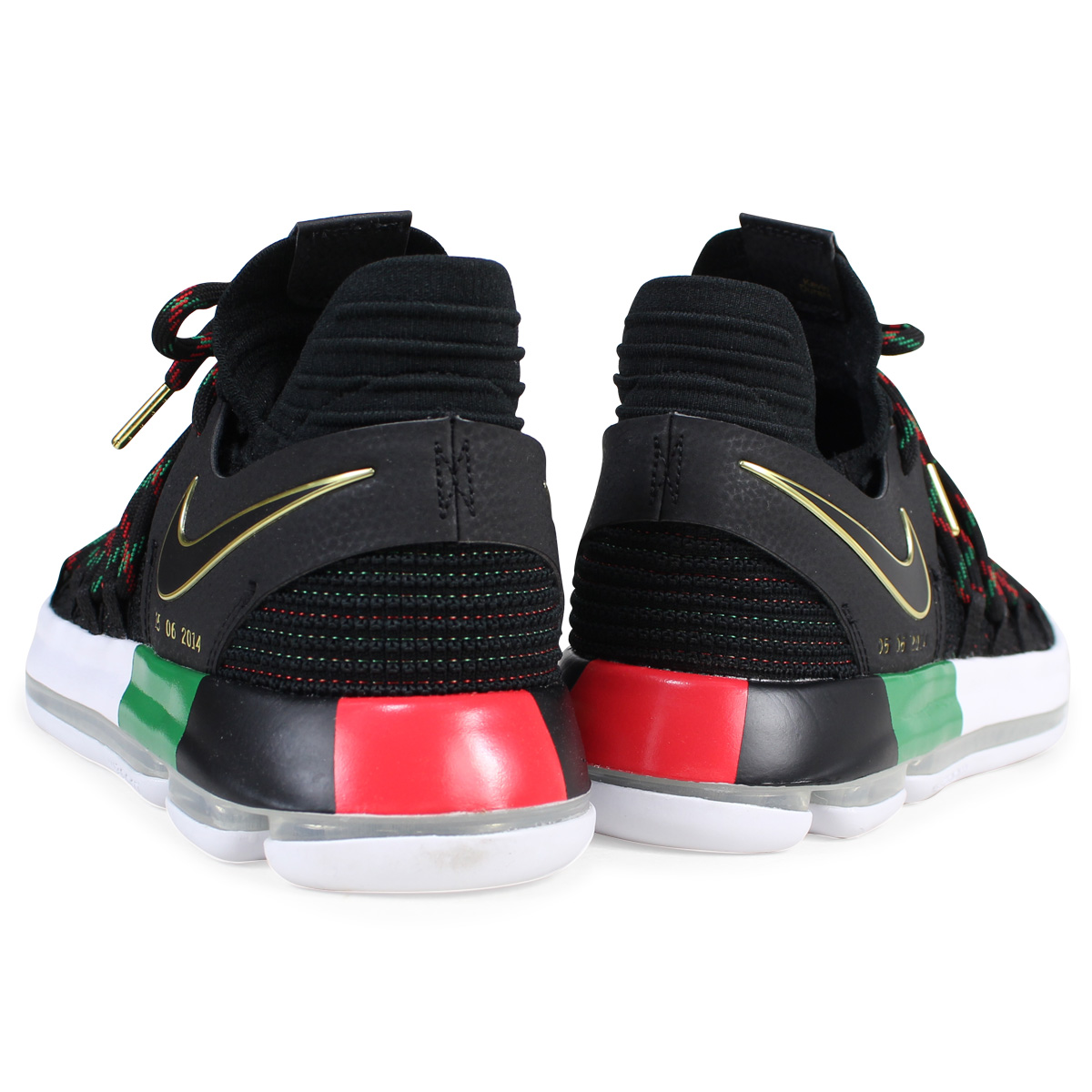 hot sale online 3045a 4534a NIKE ZOOM KD 10 LMTD EP BHM Nike KD10 sneakers men AA4197-003 Kevin Durant  black