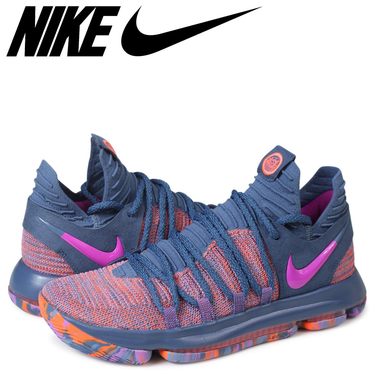 online store dc308 3c187 NIKE ZOOM KD 10 ALL-STAR Nike KD 10 sneakers men 897,817-400 ケンビュラントネイビー  [185]