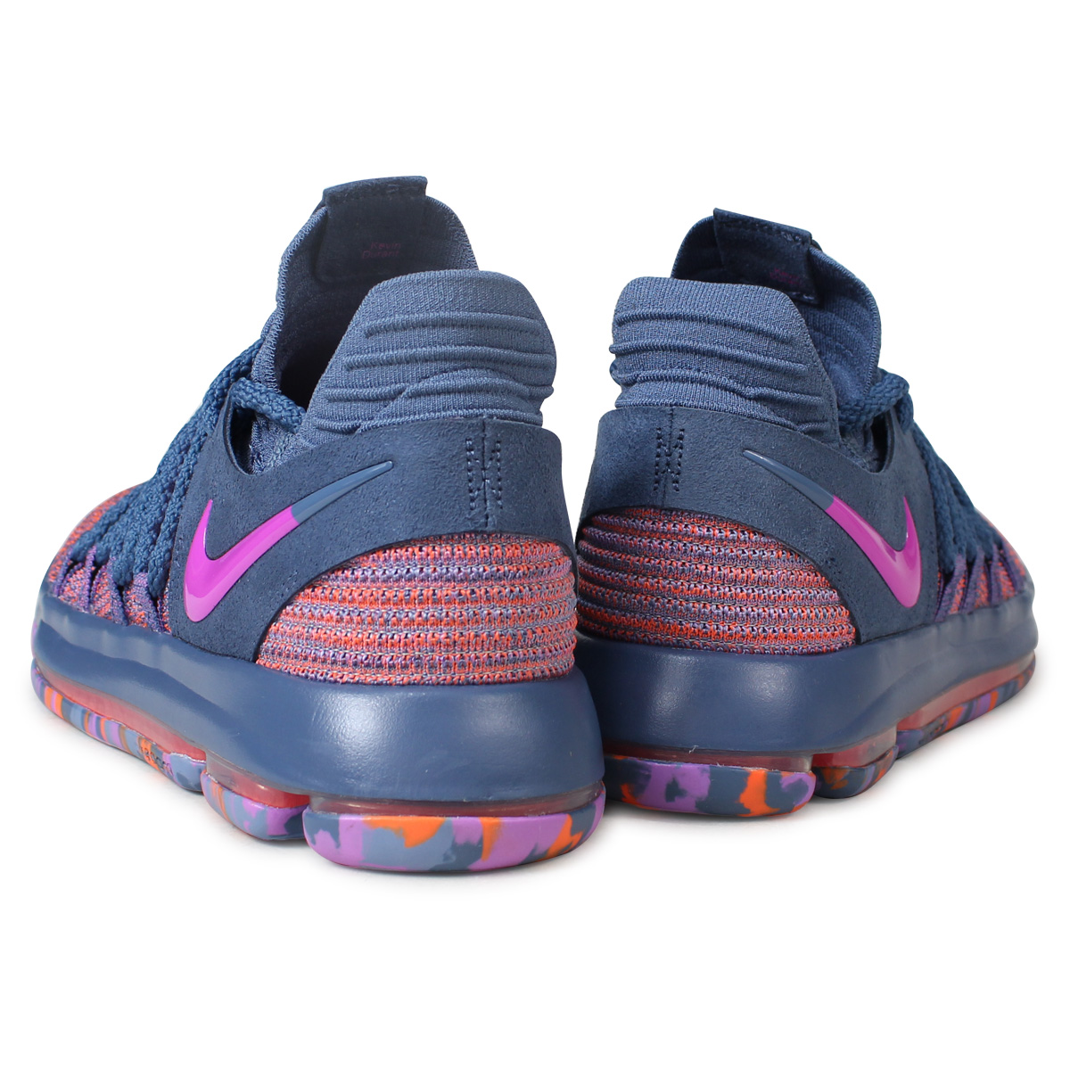 online store 2762e b6b02 NIKE ZOOM KD 10 ALL-STAR Nike KD 10 sneakers men 897,817-400 ケンビュラントネイビー  [185]