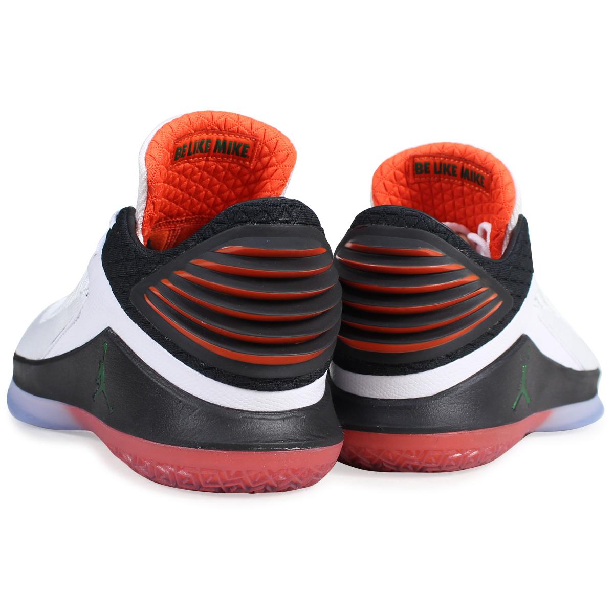46f99856504a NIKE AIR JORDAN 32 LOW PF GATORADE Nike Air Jordan 32 sneakers AH3347-100  men white