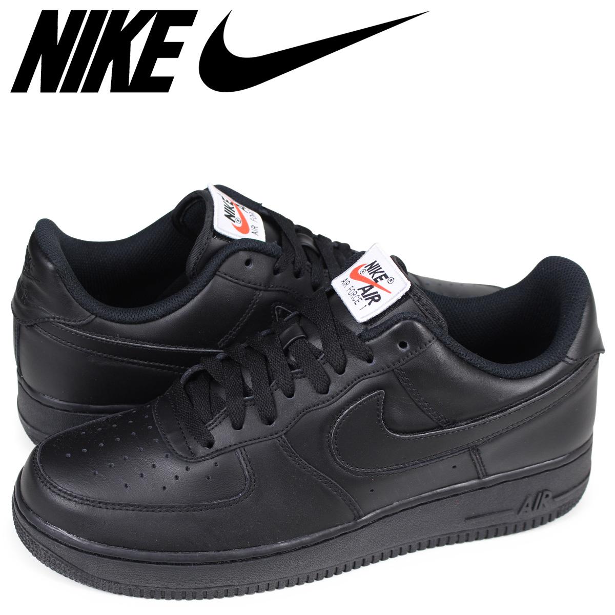 NIKE AIR FORCE 1 SWOOSH FLAVORS Nike air force 1 sneakers men AH8462 002 black [186]