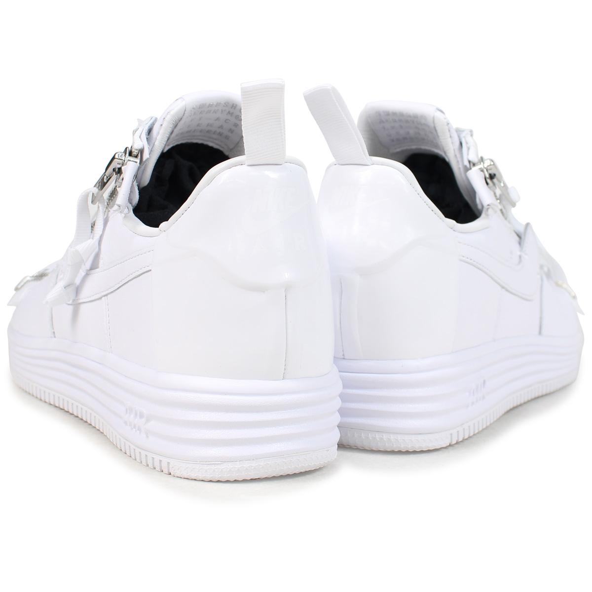 ... shop nike lunar force 1 acronym 17 nike luna force 1 sneakers men aj6247  100 white 4b80aaf8c