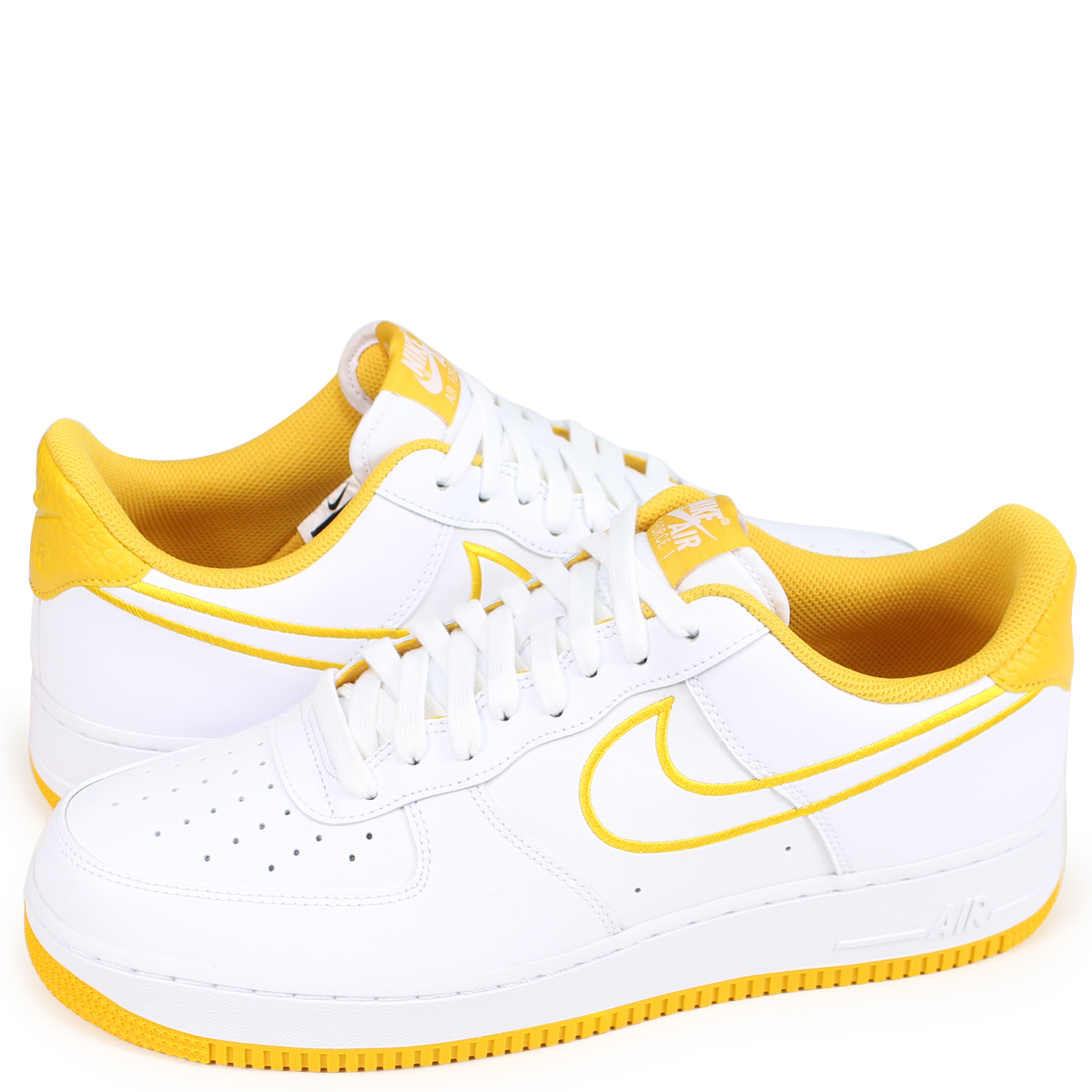 9393ef6ac791f NIKE AIR FORCE 1 07 LEATHER Nike air force 1 sneakers men AJ7280-101 white  [189]