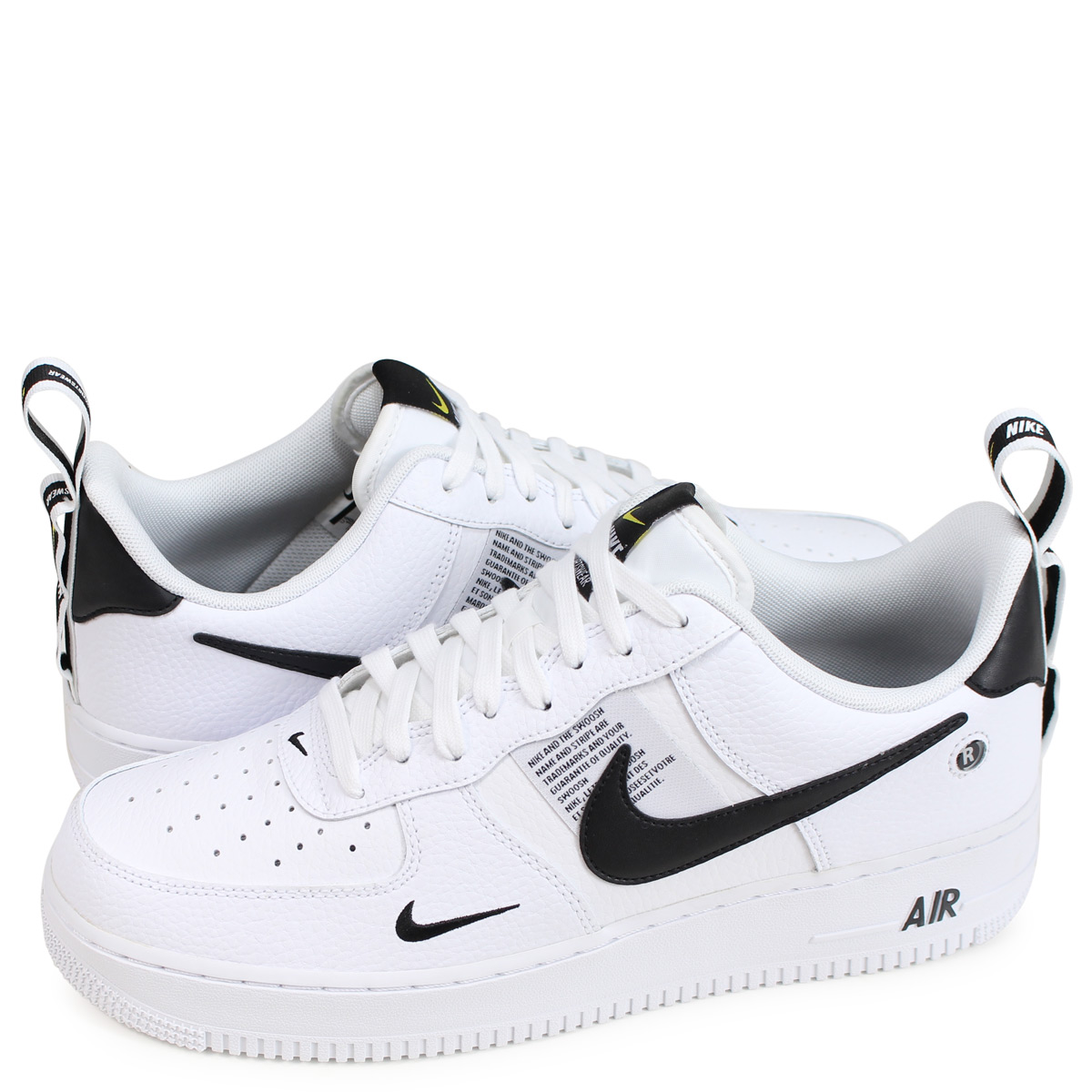 Nike NIKE air force 1 sneakers men AIR FORCE 1 07 LV8 UTILITY white AJ7747 100