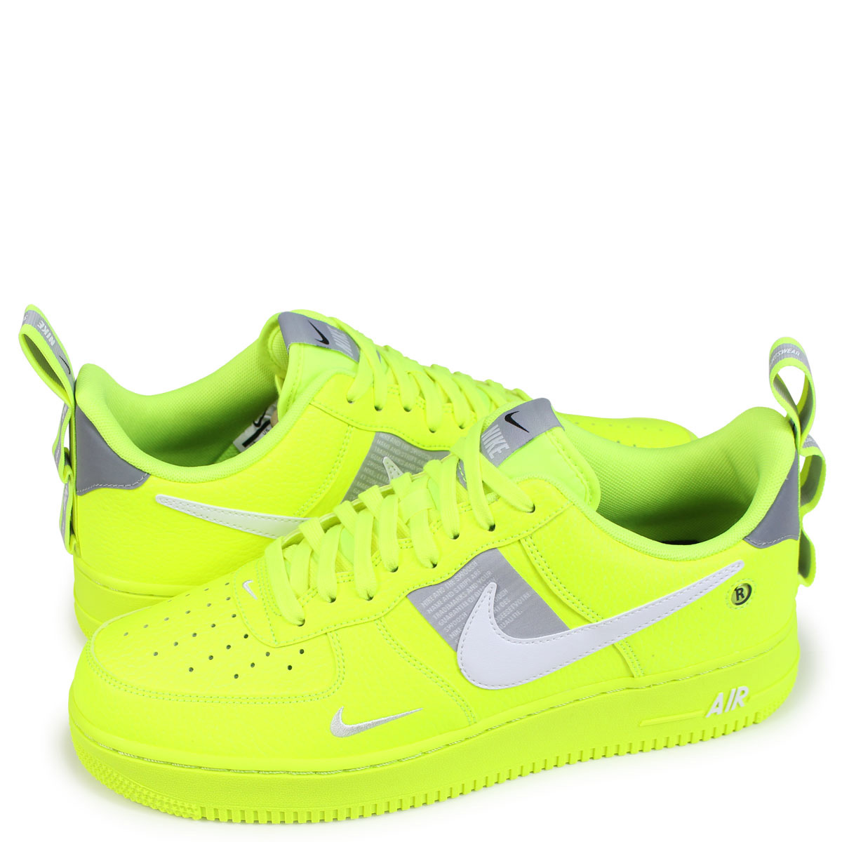 Nike NIKE air force 1 sneakers men AIR FORCE 1 07 LV8 UTILITY yellow AJ7747 700