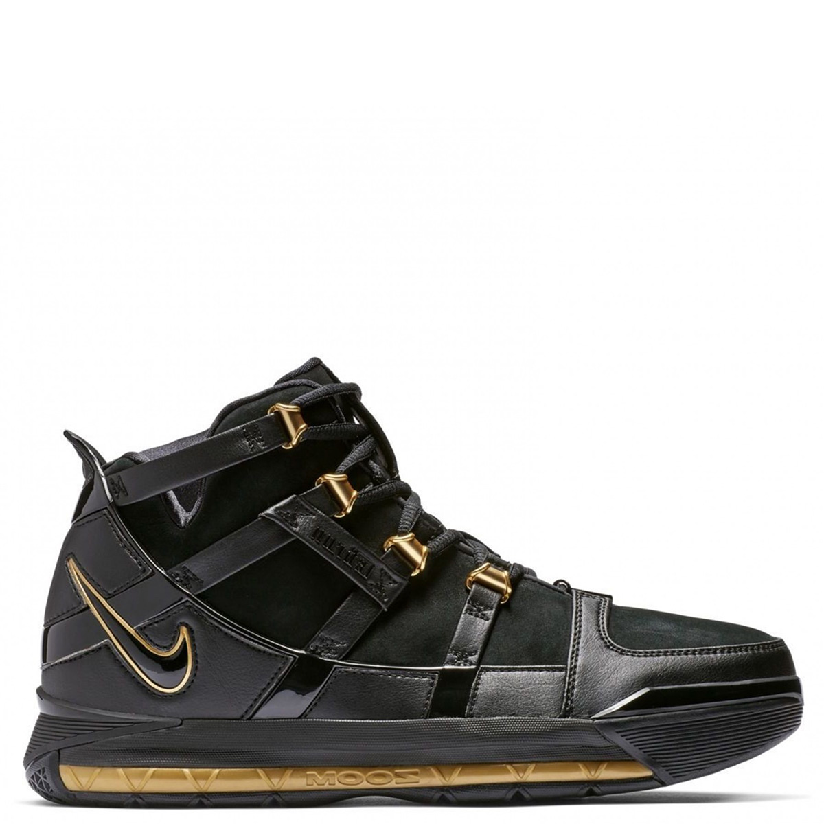 quality design a2916 fc25d Nike NIKE Revlon sneakers men ZOOM LEBRON 3 QS black AO2434-001  192