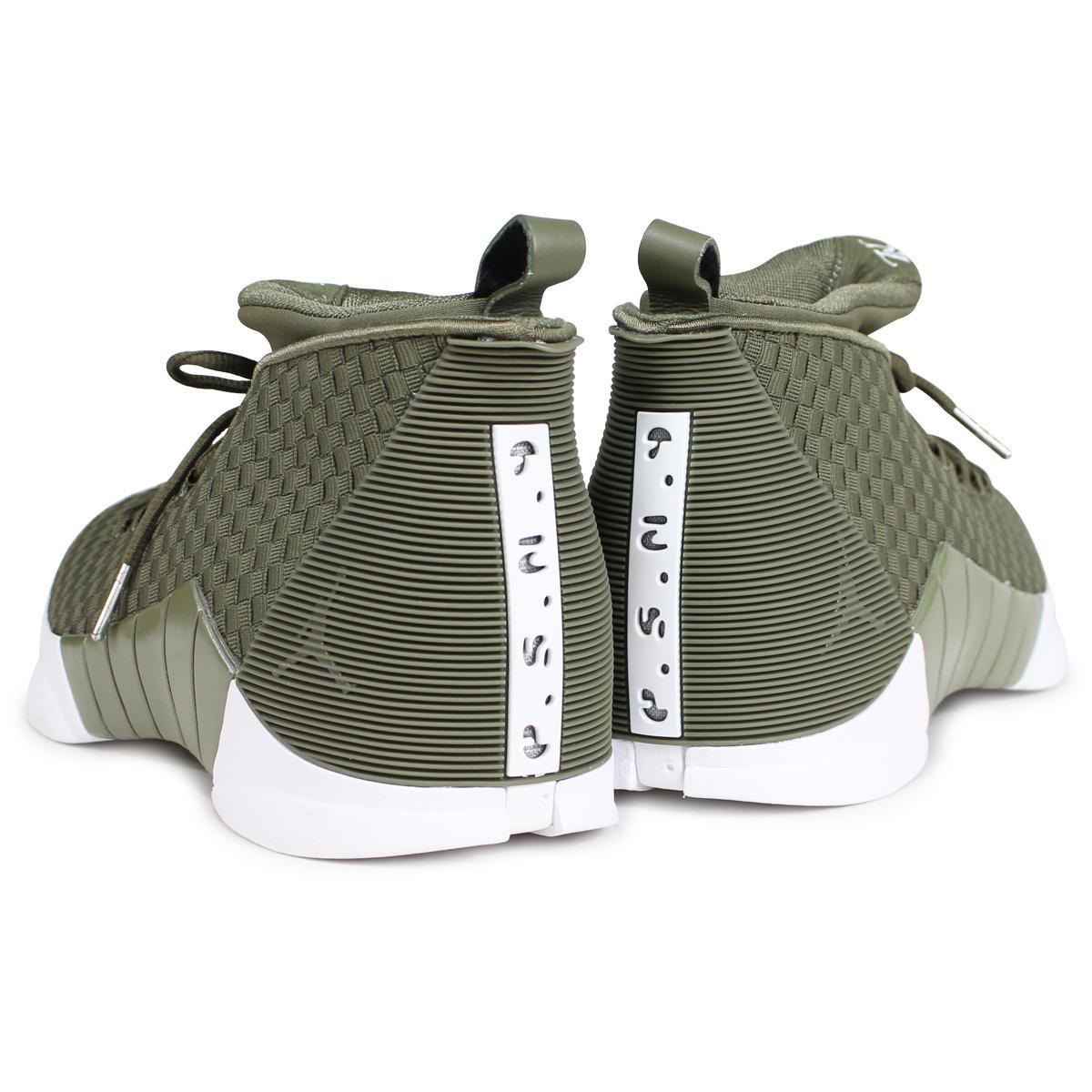 c30e07691e01 NIKE AIR JORDAN 15 RETRO WVN PSNY Nike Air Jordan 15 nostalgic sneakers men  AO2568-200 olive  187
