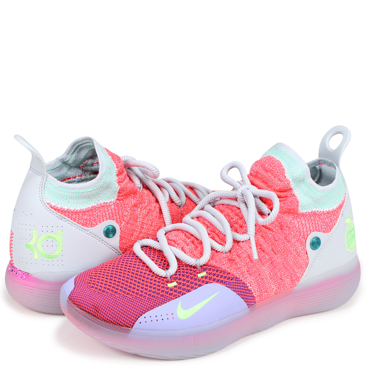 cacf963be90e ALLSPORTS  NIKE ZOOM KD 11 EP Nike KD11 sneakers men A02605-600 pink ...