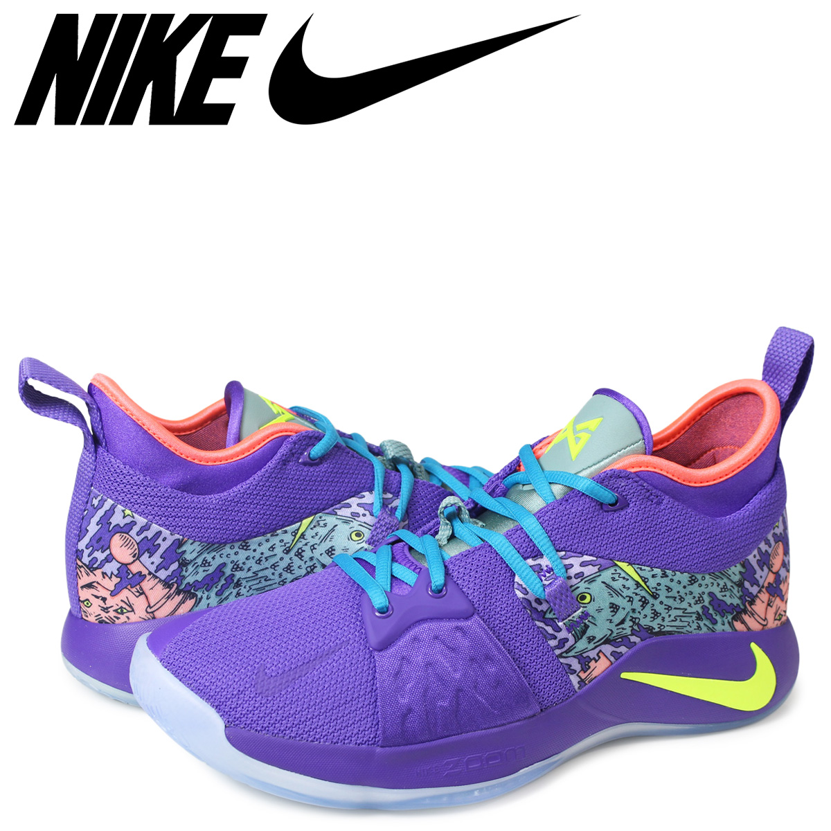 9b6e1b1d3173 ALLSPORTS  NIKE PG 2 MM EP Nike PG2 sneakers men AO2985-001 purple ...