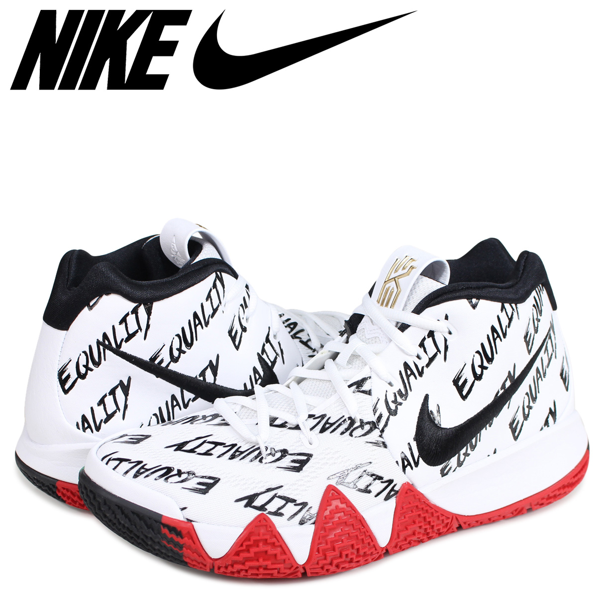 sports shoes 5e404 350c0 NIKE KYRIE 4 BHM Nike Carly 4 sneakers men AO3167-900 multi-[187]