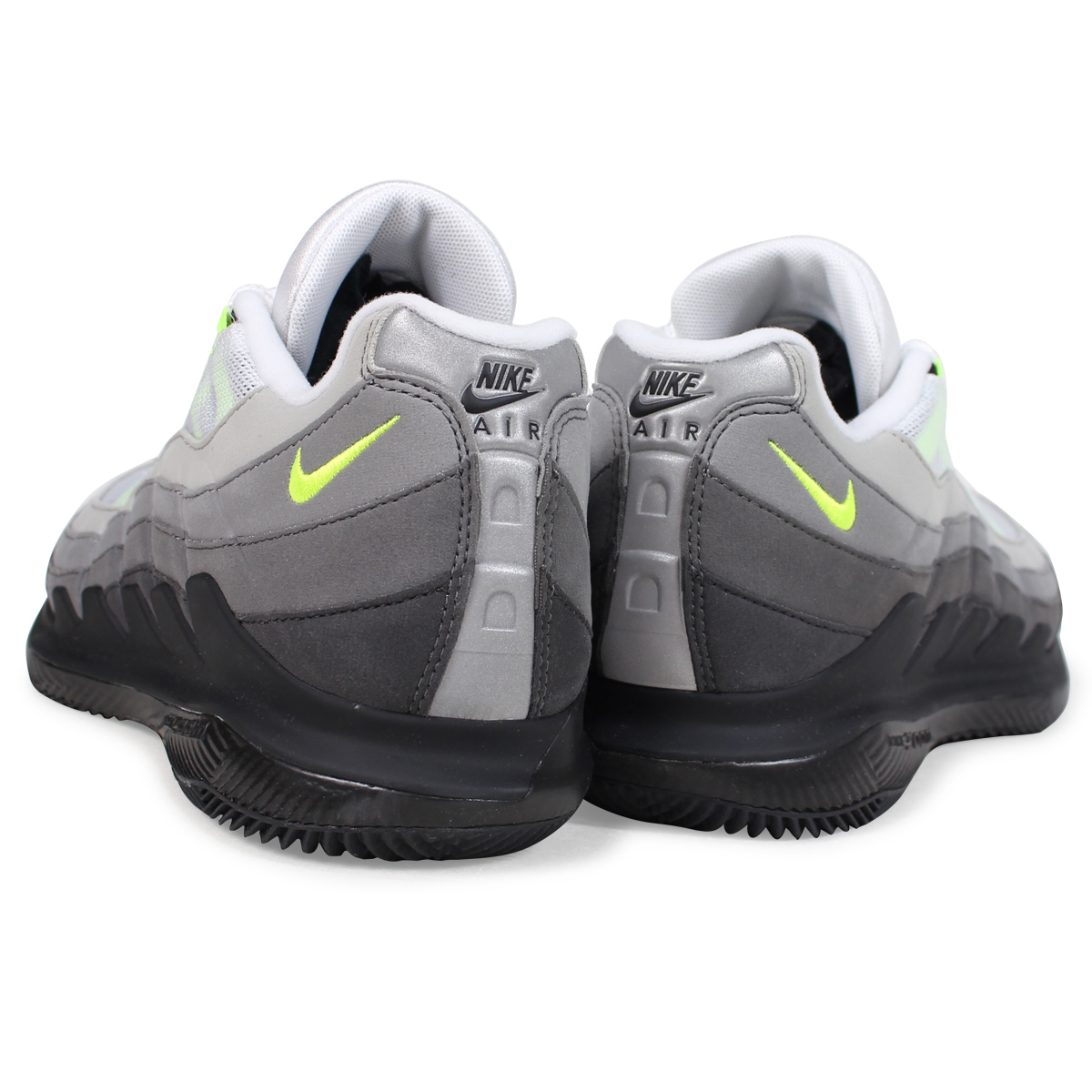 2c9b5ddae4f6 NIKE COURT VAPOR RF X AM95 NEON Nike coat vapor sneakers men AO8759-078 neon  yellow  185