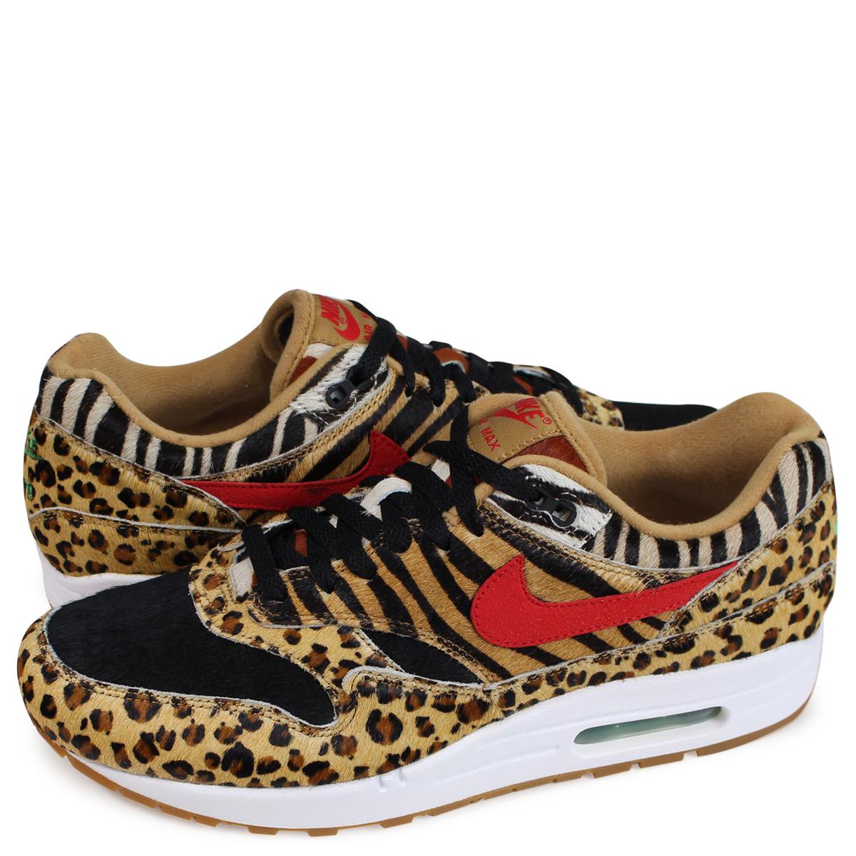 ALLSPORTS  NIKE AIR MAX 1 DLX ANIMAL PACK Kie Ney AMAX 1 sneakers men  AQ0928-700 ウィート  1810   8f95ca31d