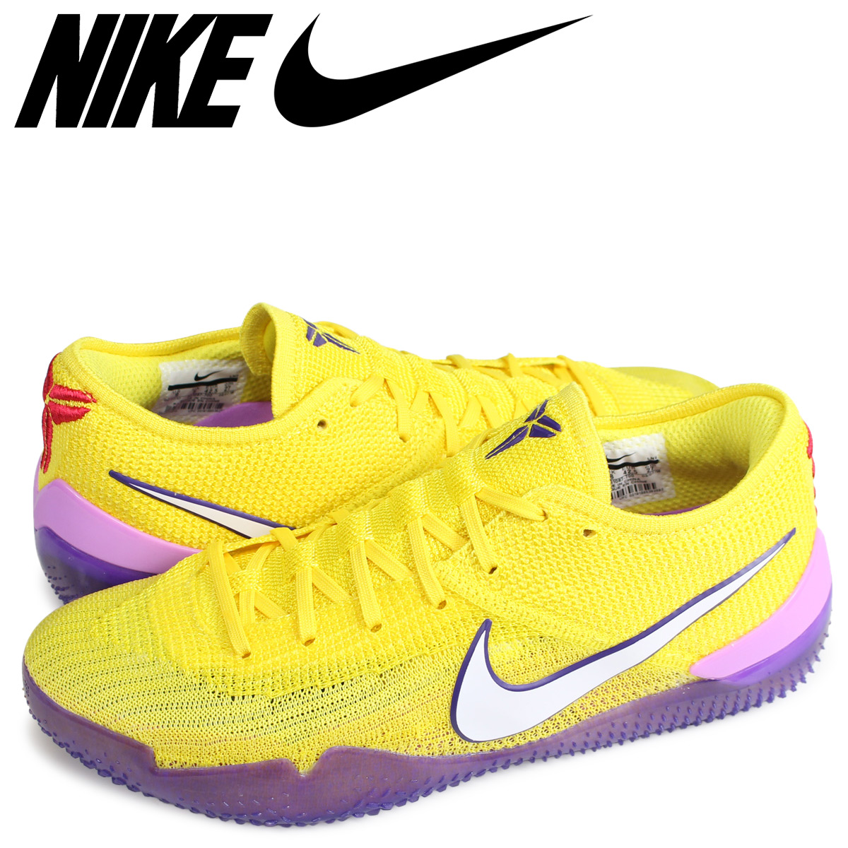 hot sale online 552cc 22a26 cheap allsports nike kobe ad nxt 360 yellow strike nike corby sneakers men  aq1087 700 yellow