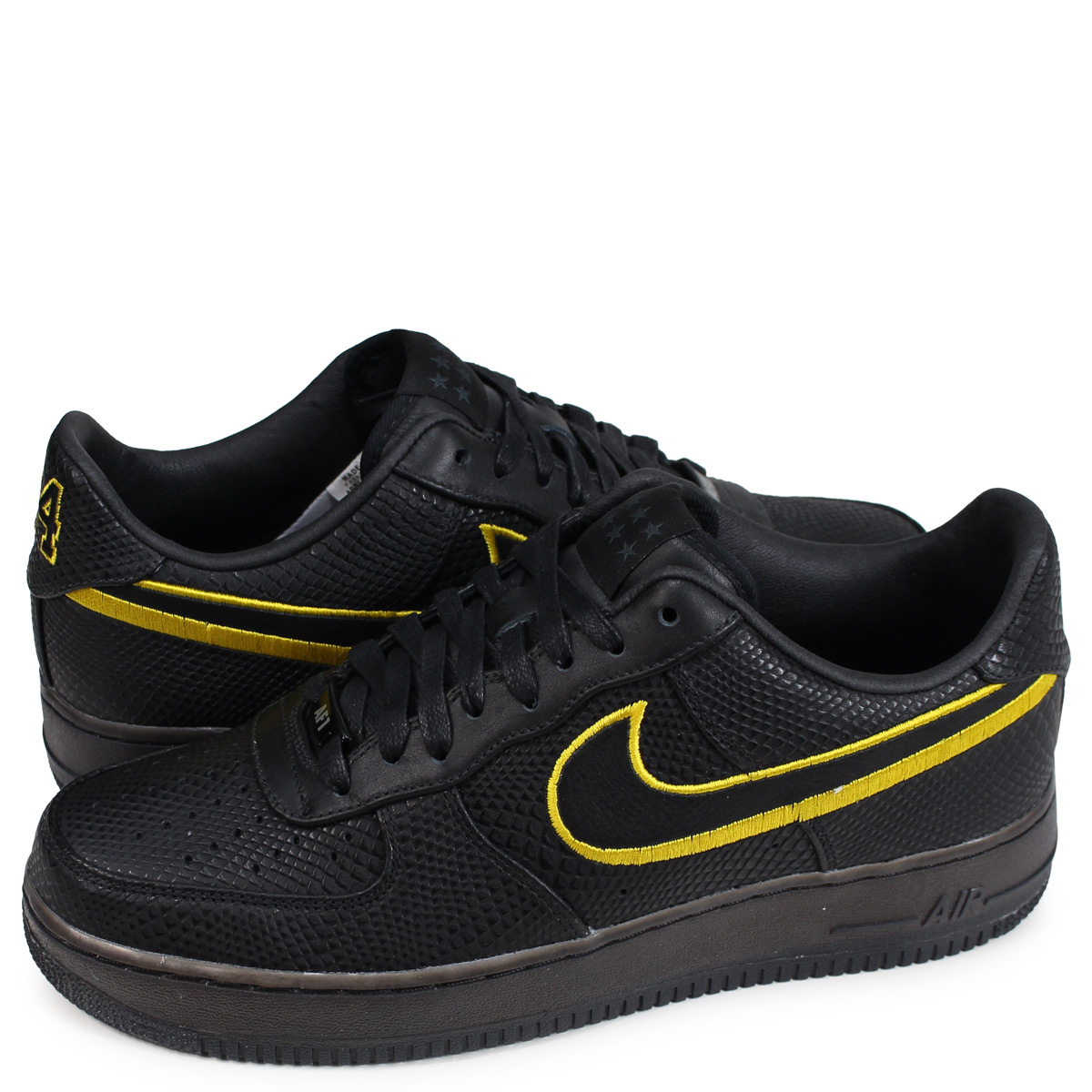 separation shoes 7057a 60eb1 Nike NIKE air force 1 sneakers men AIR FORCE 1 LOW KOBE LAST DAY black  AQ9763 ...
