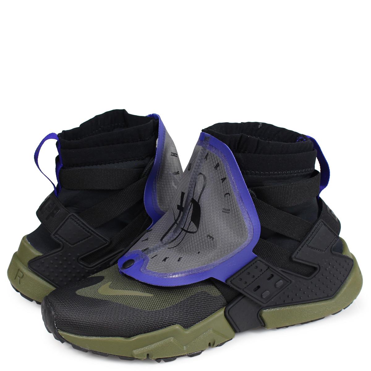 37de525ce6fd Nike NIKE エアハラチスニーカーメンズ AIR HUARACHE GRIPP QS black AT0298-001  1812