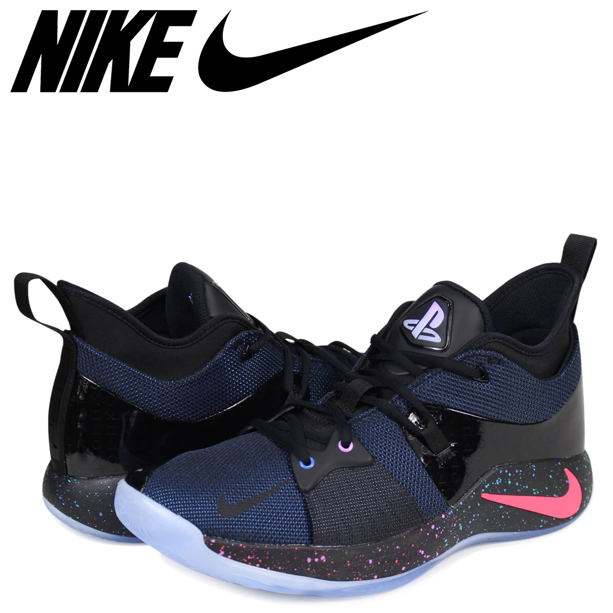 2bb000b07af ALLSPORTS  NIKE PG 2 EP PLAYSTATION Nike PG2 sneakers men black ...