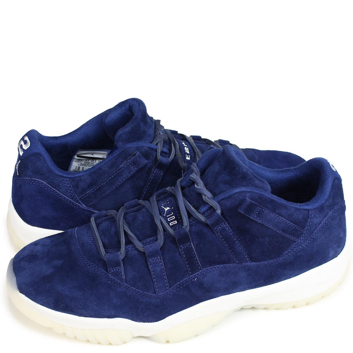 huge selection of 46dee 77892 NIKE AIR JORDAN 11 RETRO LOW RE2PECT Nike Air Jordan 11 nostalgic sneakers  men AV2187-441 blue [1810]