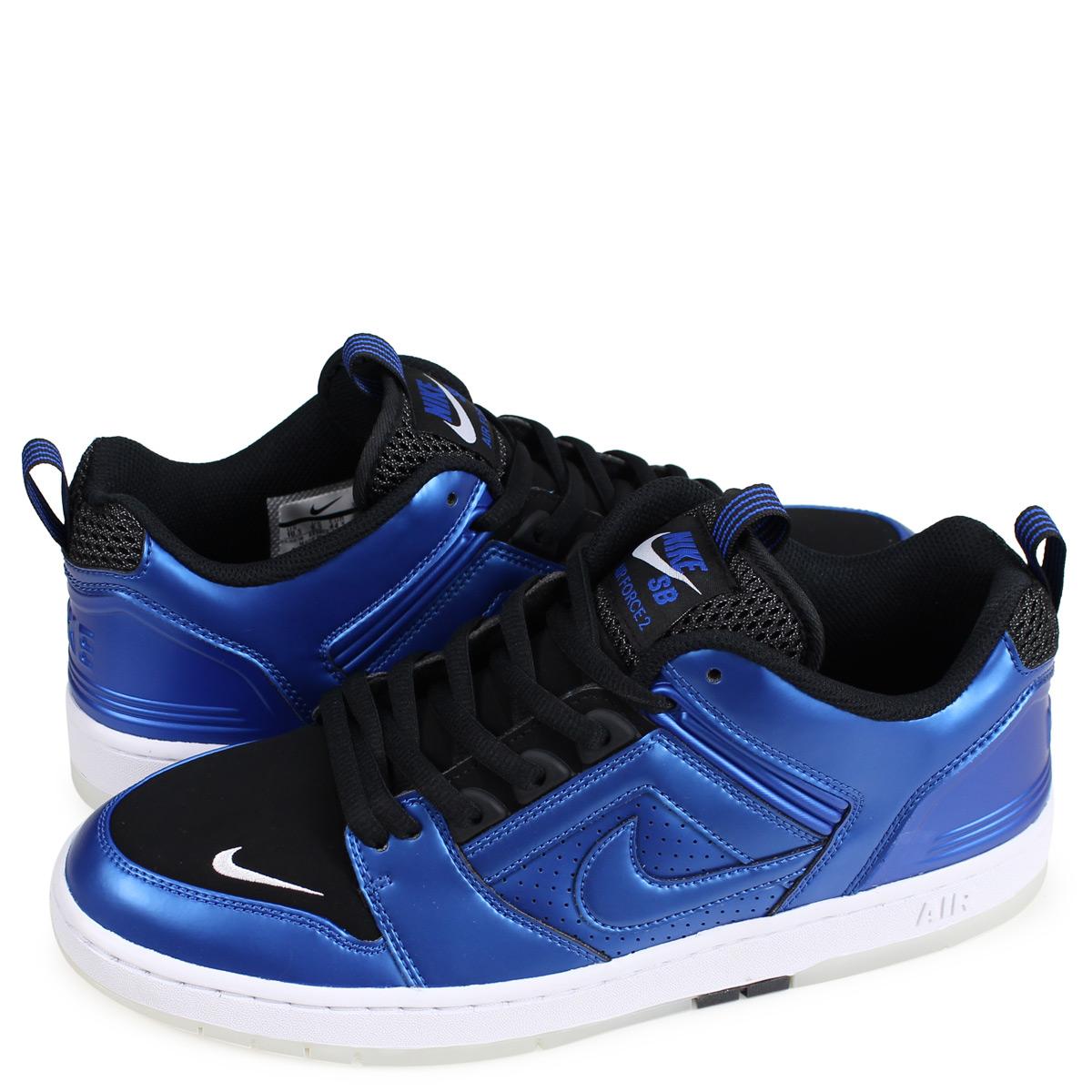 9c20edb3ba0 Nike NIKE SB air force 2 sneakers men AIR FORCE 2 LOW FOAMPOSITE 1 blue  AV3800-440  1812