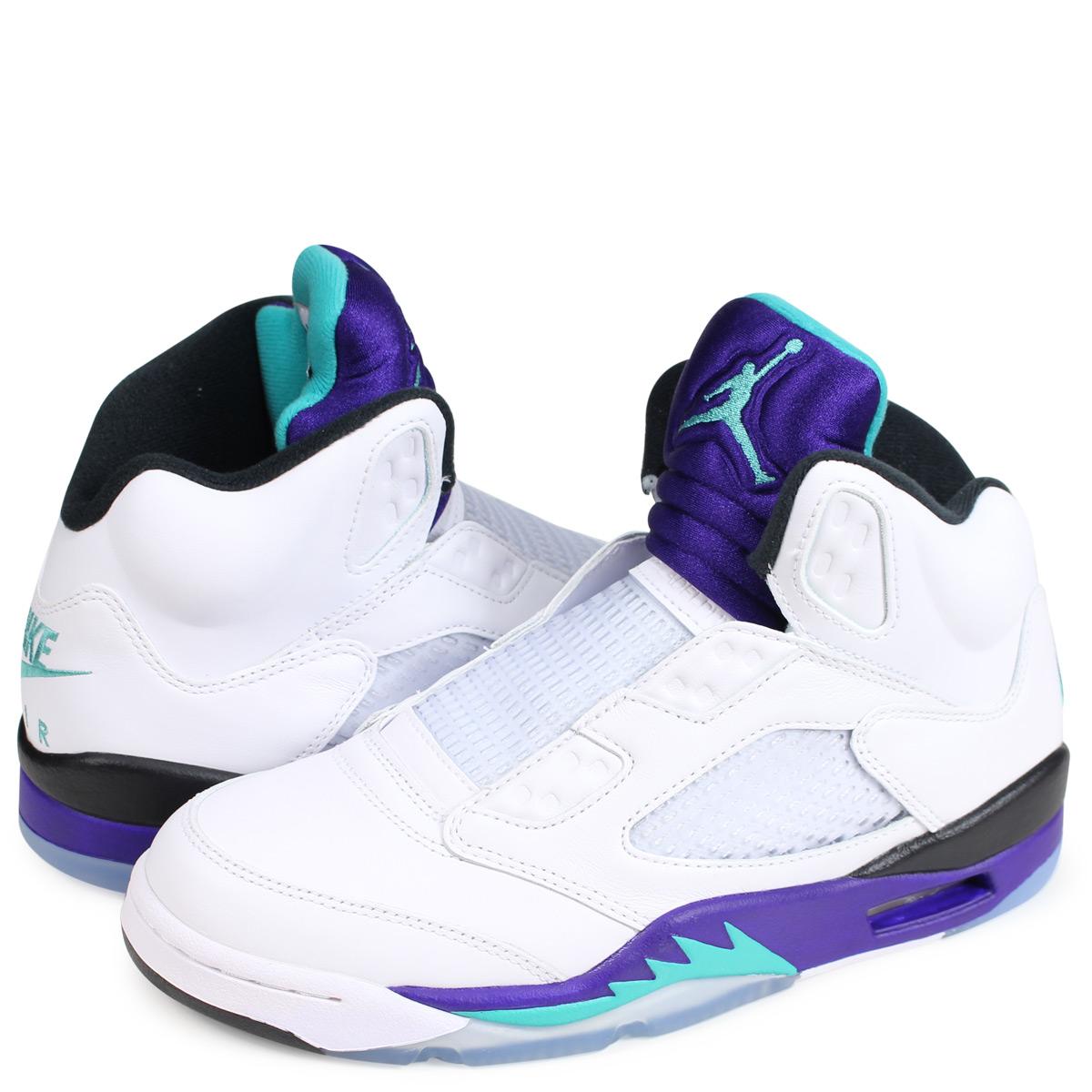 970ece263c0 Nike NIKE Air Jordan 5 nostalgic sneakers men AIR JORDAN 5 RETRO NRG FRESH  PRINCE grape AV3919-135