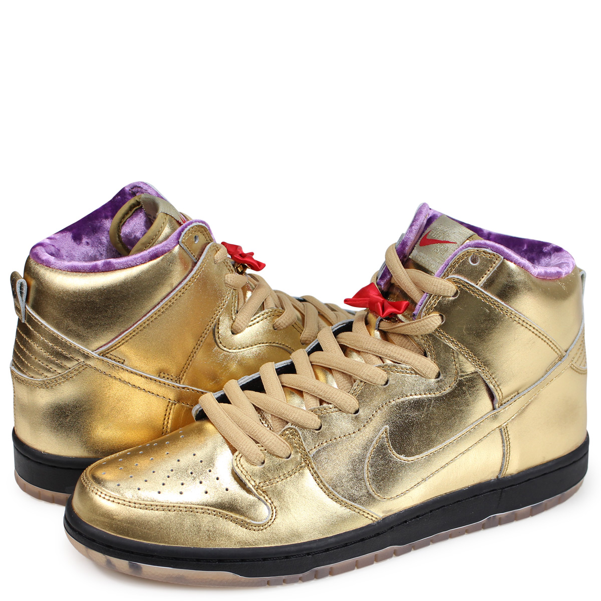 huge discount 4ac20 62f1e Nike NIKE SB dunk high sneakers men DUNK HIGH HUMIDITY collaboration gold  AV4168-776
