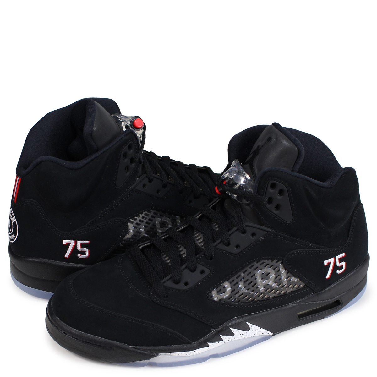 official photos 90934 f0c35 Nike NIKE Air Jordan 5 nostalgic sneakers men AIR JORDAN 5 RETRO BCFC PSG  black AV9175-001