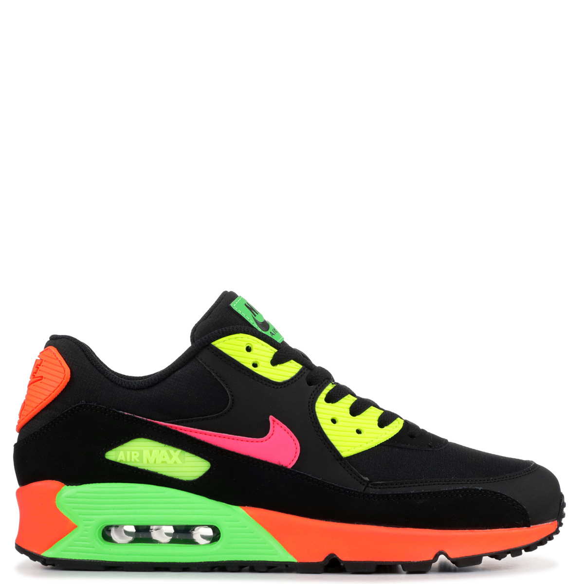 half off a3c49 98f39 Nike NIKE Air Max 90 sneakers men AIR MAX 90 NEON black black CI2290-064