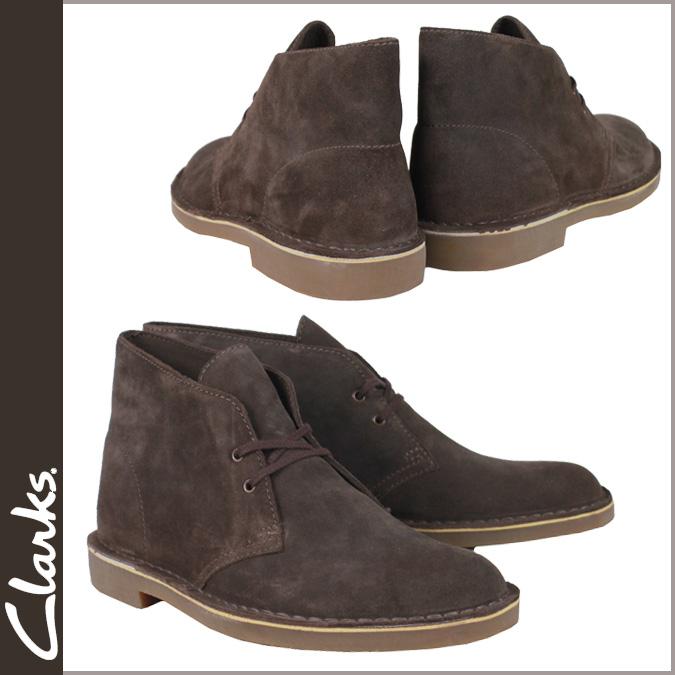 82289 2 kulaki CLARKS desert boots Desert Boot Bushacre suede leather men