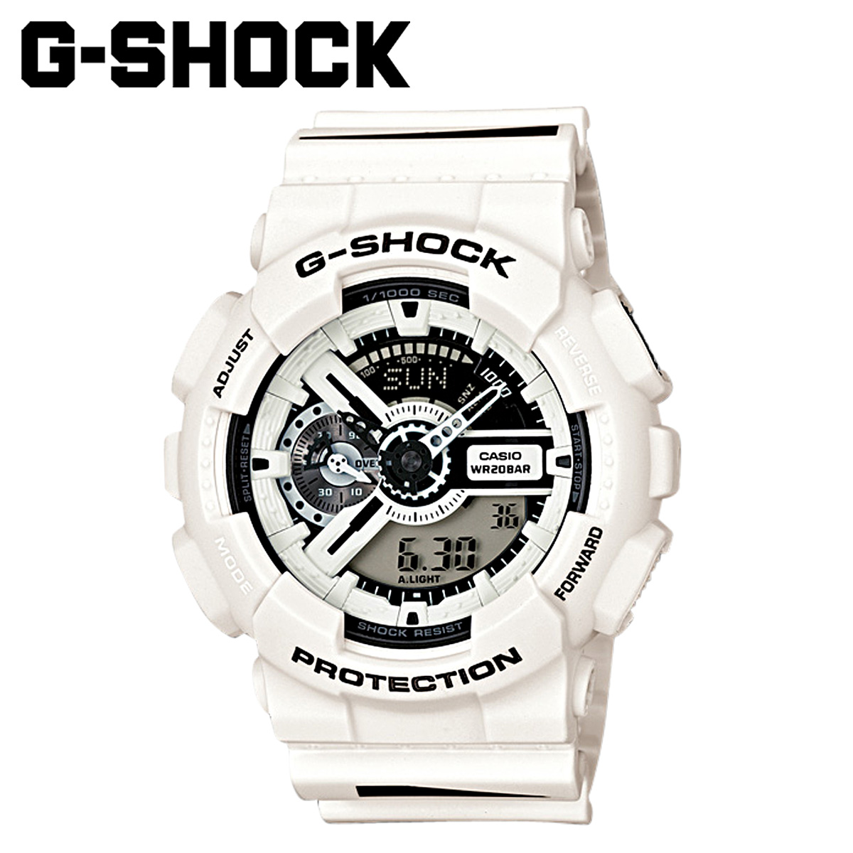 Casio CASIO G-SHOCK watch GA-110MH-7AJR Maharishi collaboration model men gap Dis clock