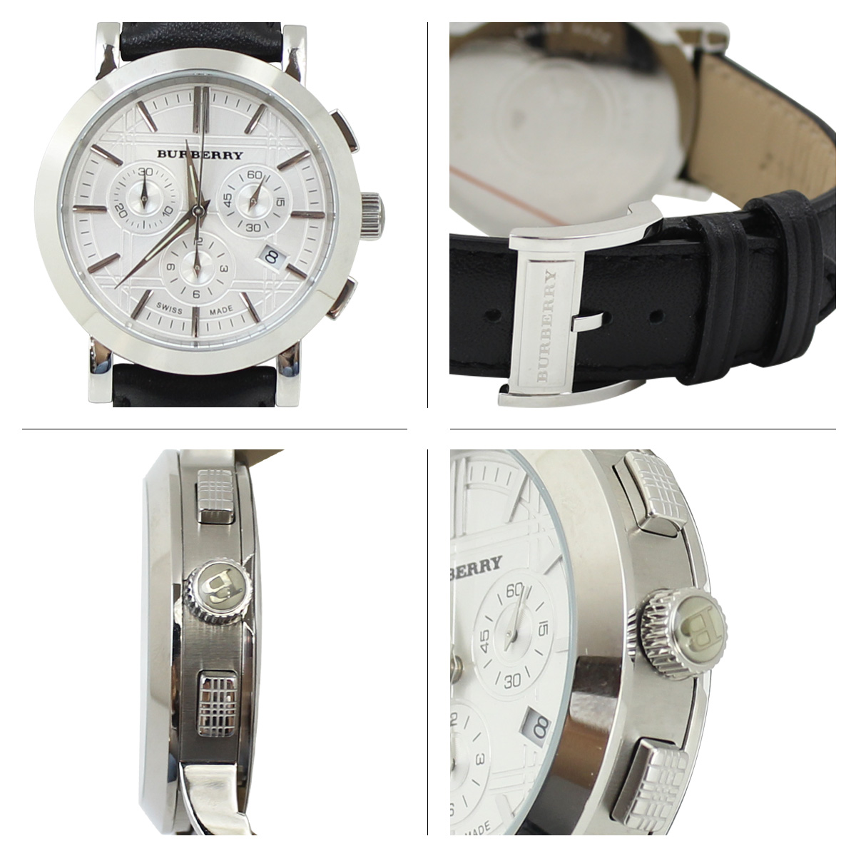 burberry heritage chronograph watch