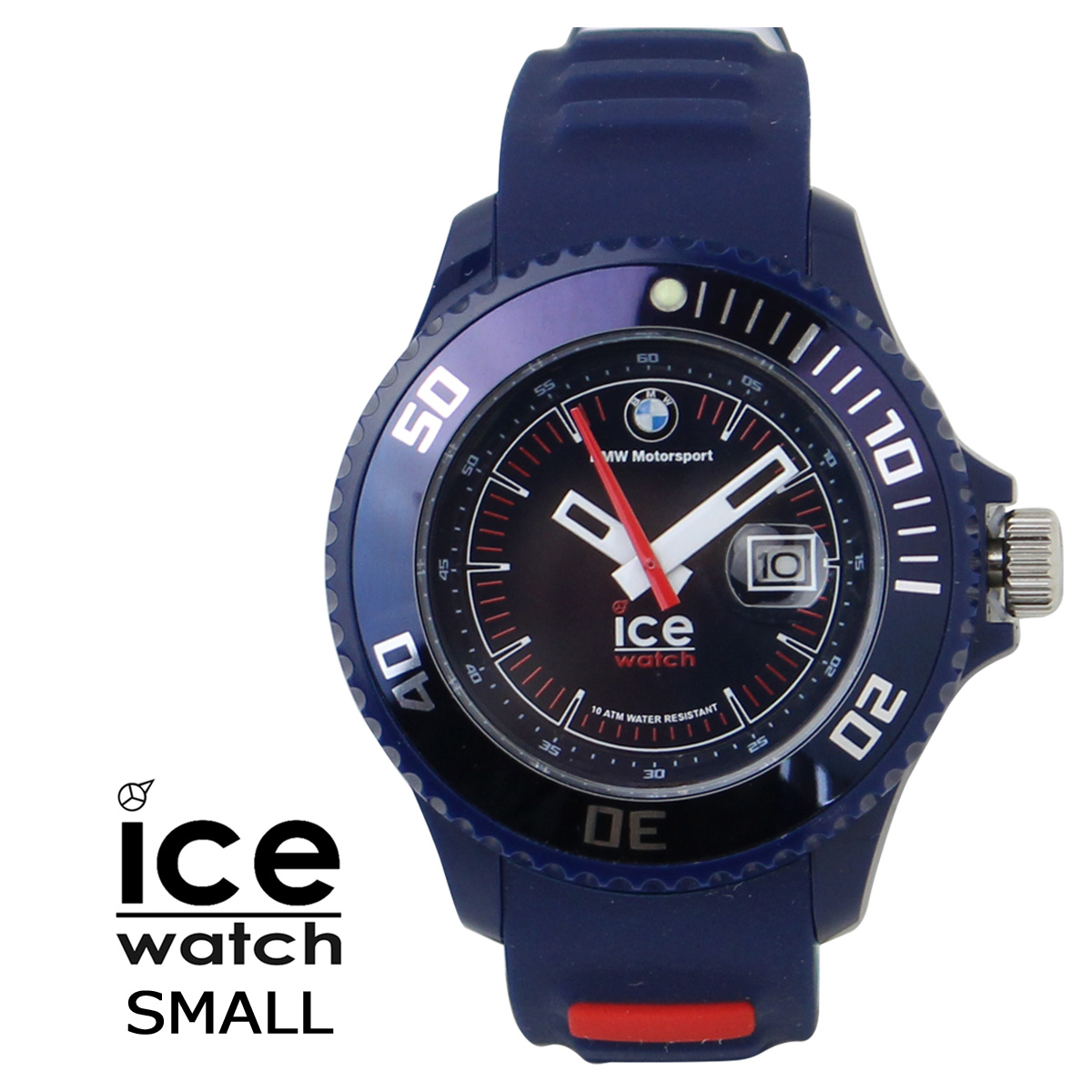 [SOLD OUT]冰表ICE-WATCH手表BMW MOTORSPORT SMALL 38mm BM.SI.DBE.S.S.13女子[对象外]