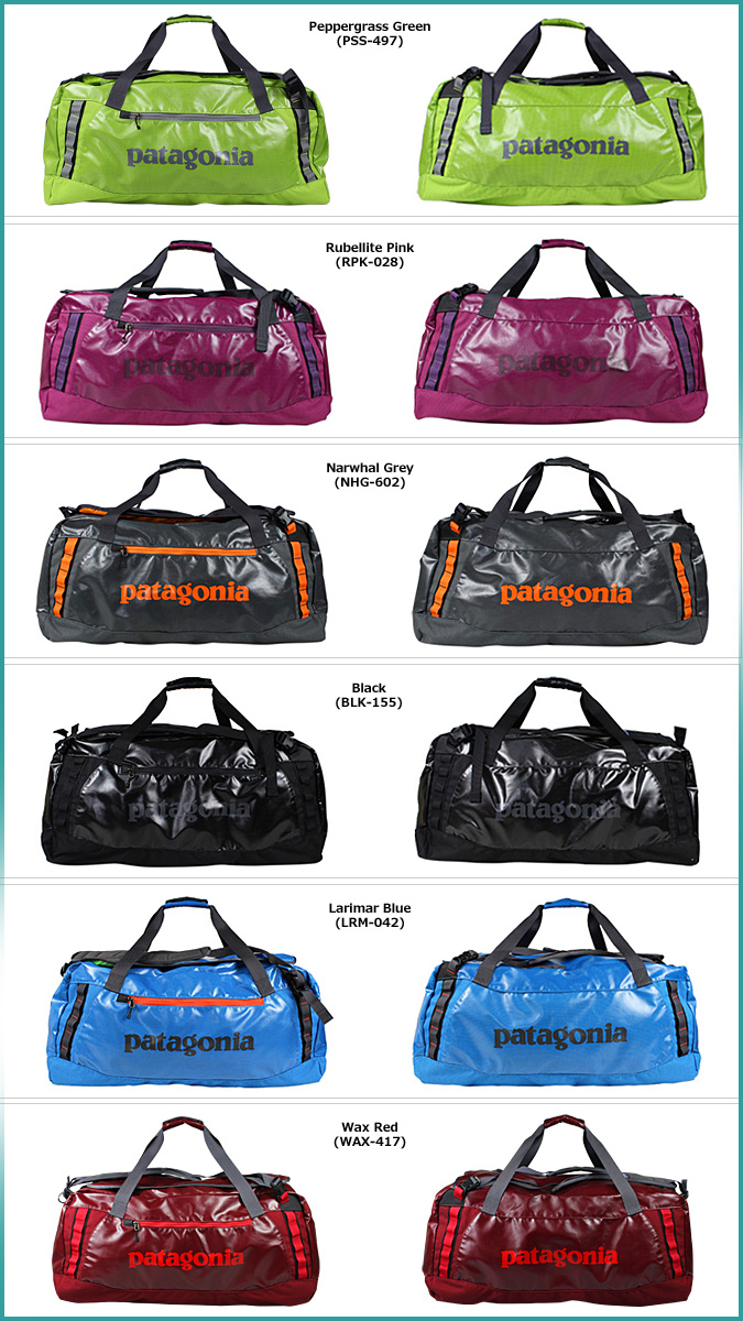 Patagonia 3way Duffle Bag 49345 Black Hole Duffel 90l Polyester Mens Womens Fall 2017 New
