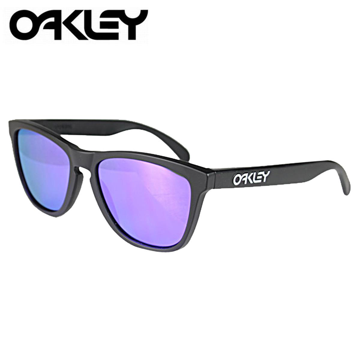 f2b003d433e7 ... buy allsports oakley oakley sunglasses frogskins frog skin mens womens  glasses 24 298 matte black violet