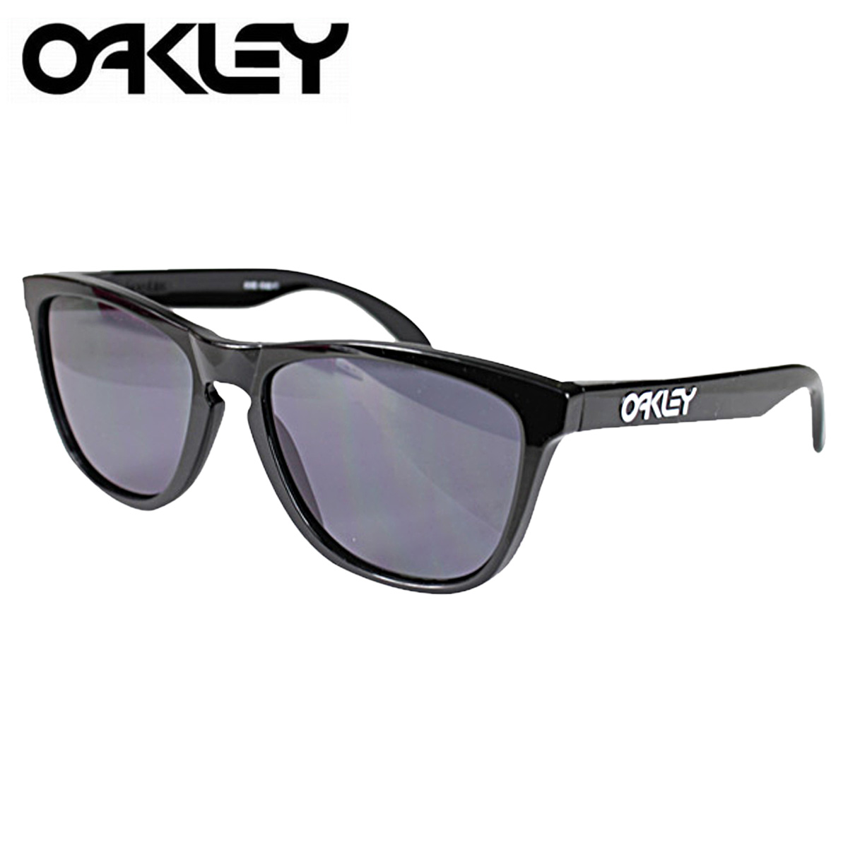 e7c85b590a ALLSPORTS  Oakley Oakley Sunglasses Frogskins frog skin mens Womens glasses  24-306 black x grey unisex  2   10 back in stock   regular