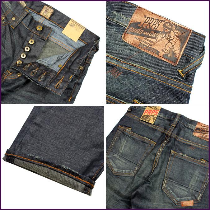 ピーアールピーエス PRPS vintage denim E59P50NV RAMBLER cotton mens