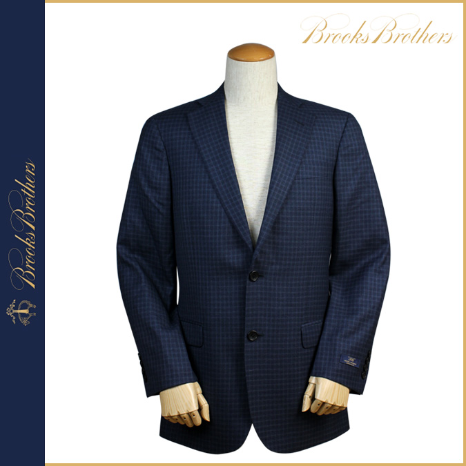Brooks Brothers BROOKS BROTHERS tailored jacket 6209 23295 FITZGERALD FIT 346 wool mens business suits