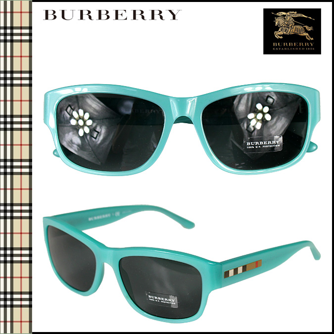 blue burberry glasses