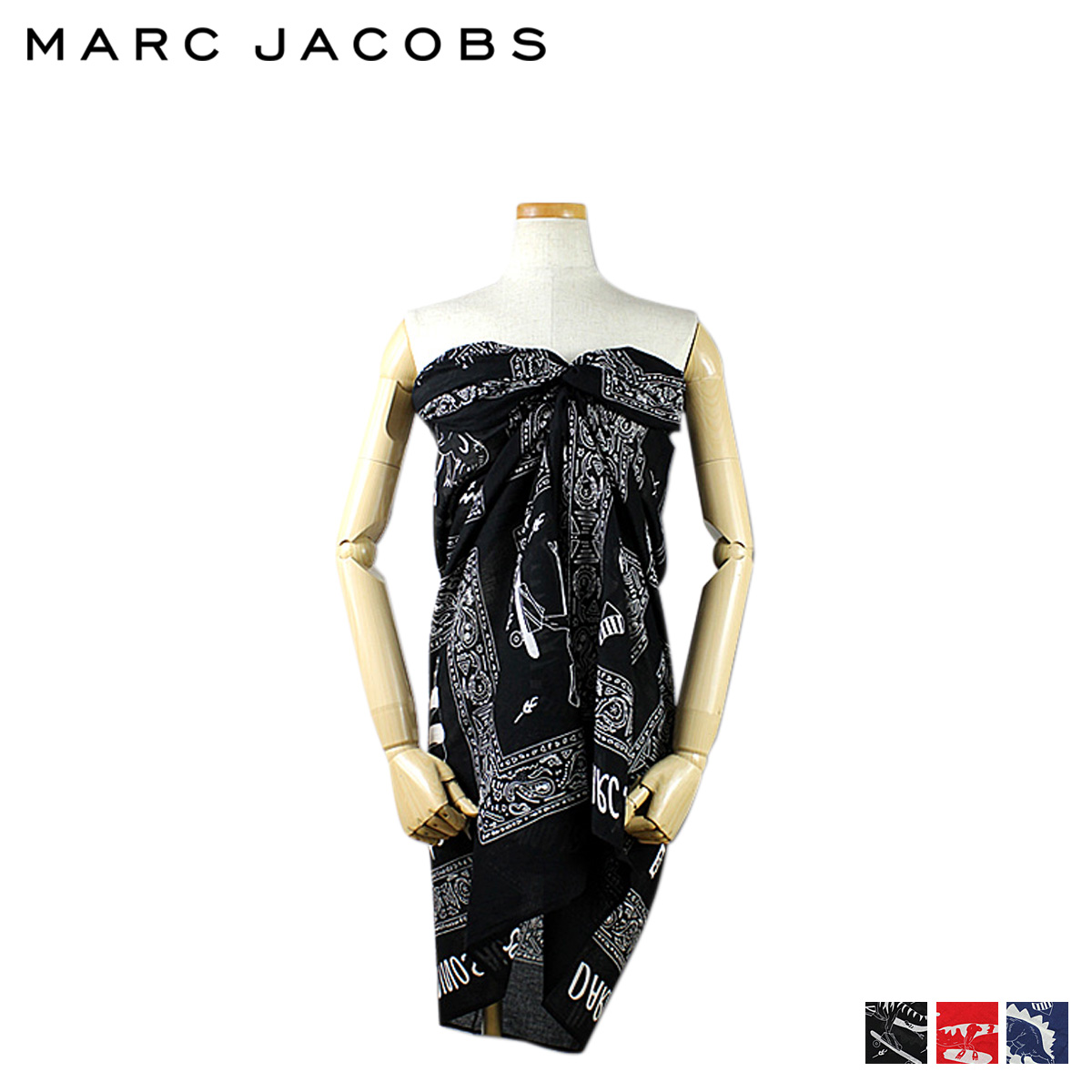 Mark by Mark Jacobs MARC BY MARC JACOBS pareo 3 color bandanna blanket women's [regular]