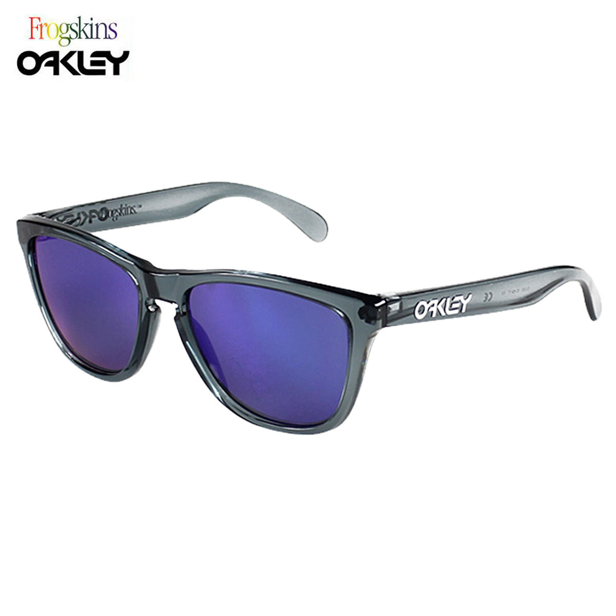 01d8e28d942b ... aliexpress allsports sold out oakley oakley sunglasses frogskins frog  skin glasses 03 289 crystal black red