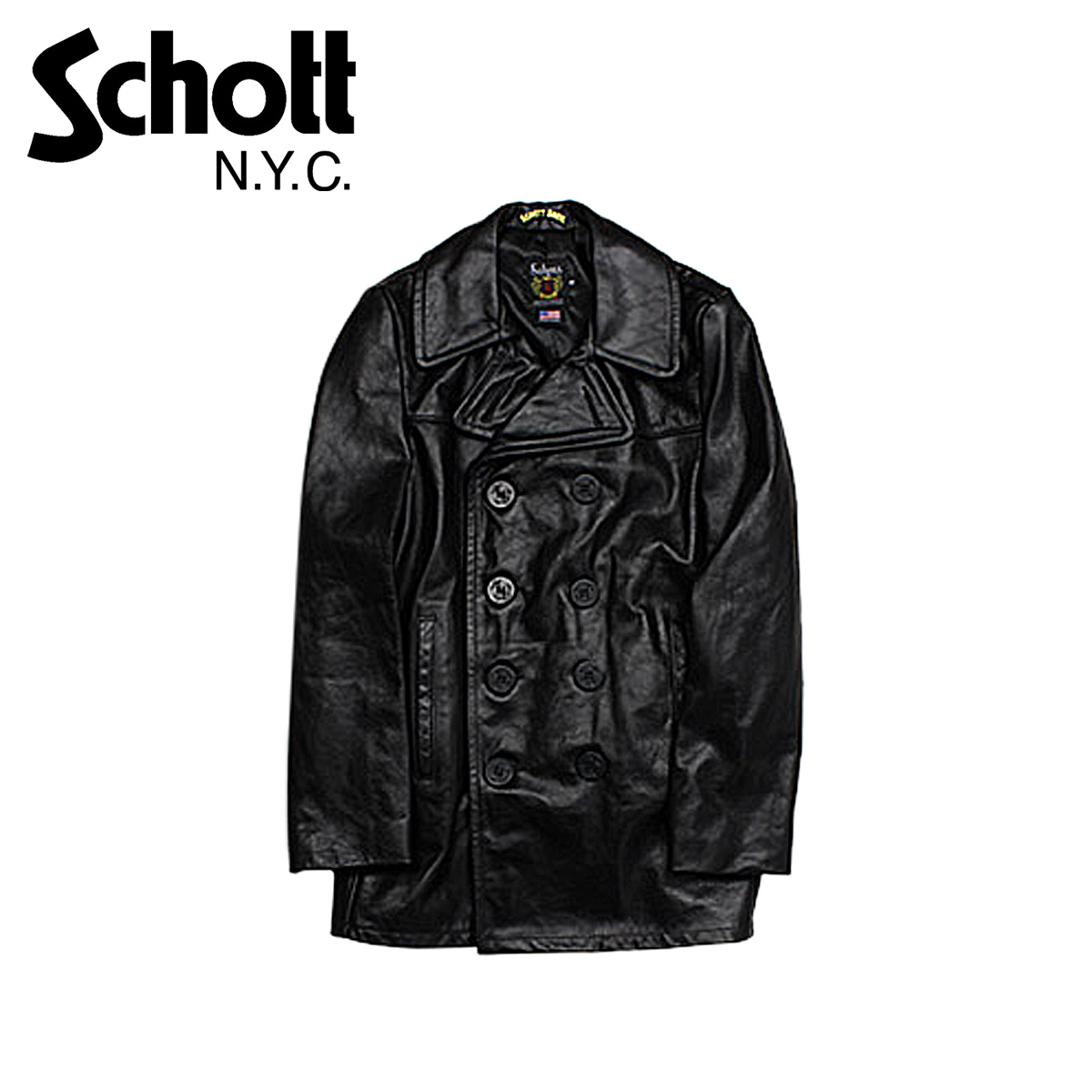 ALLSPORTS | Rakuten Global Market: [Black] [SOLD OUT] shot Schott ...