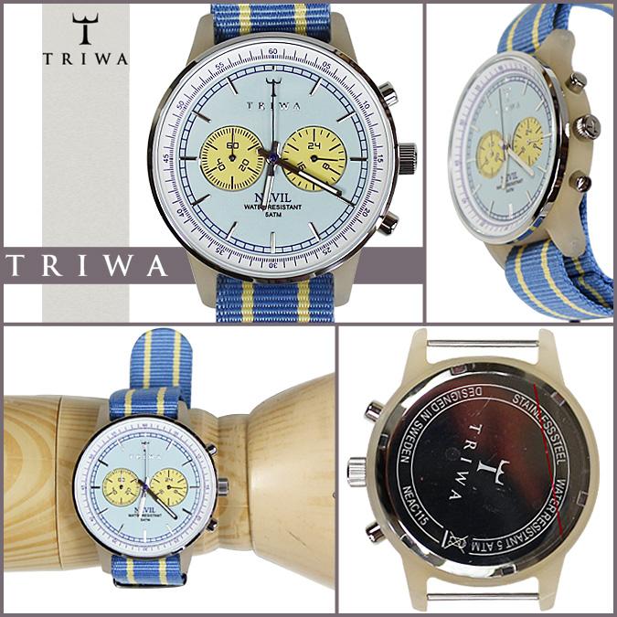 NEAC115 ALABASTER LAVENDER NEVIL mens Womens Tri TRIWA watches [light blue] [12 / 10 new in stock] [regular]